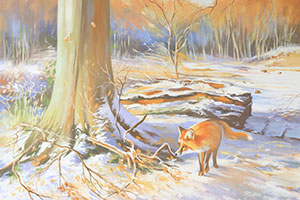 Fox by Robert Bridgstock